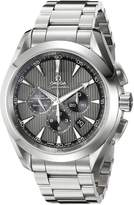 Omega Men's 231.10.44.50.06.001 Seamaster Aqua Terra Chronograph Watch