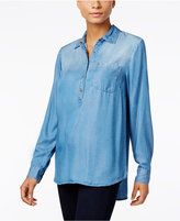 Style&Co. Style & Co. Denim Shirt, Only at Macy's