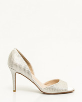 Le Château Jewel Embellished Satin d'Orsay Pump