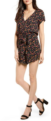 Lost + Wander Party Til Dawn Floral Print Romper