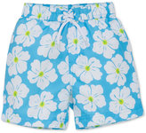 Little Me Floral-Print Swim Trunks, Baby Boys (0-24 months)