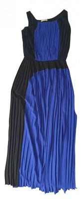 Stefanel Blue Polyester Dresses