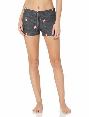 PJ Salvage Women's Loungewear Sealed with A Kiss Short