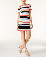 MICHAEL Michael Kors Cabana Striped T-Shirt Dress, A Macy's Exclusive Style
