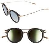 Salt Women's 'Taft' 46Mm Round Sunglasses - Burlywood/antique Gold