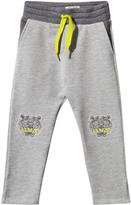 Kenzo Grey Marl Tiger Patch Sweat Pants