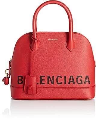 Balenciaga Women's Ville Leather Bowling Bag - Red