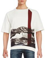 Carlos Campos Graphic Crewneck Sweatshirt