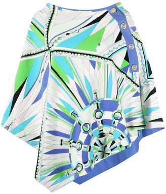 Emilio Pucci Bes print beach cover-up