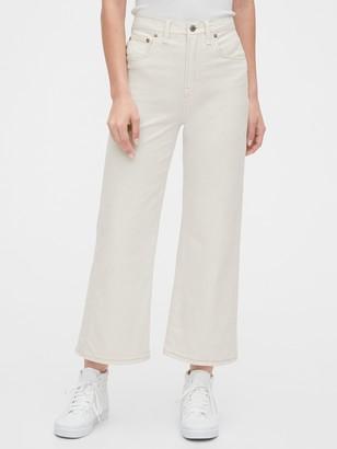 Gap High Rise Wide-Leg Crop Jeans