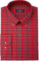 Club Room Men's Regular Fit Tartan Dress Shirt, Created for Macy's