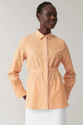 Cos Long-Sleeved Cotton Shirt