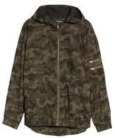 Zanerobe Men's Box Camo Hooded Jacket