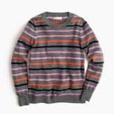 J.Crew Girls' striped wool popover sweater