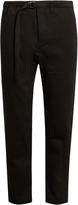 Fanmail Drawstring-waist hemp and cotton-blend trousers