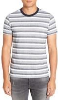 French Connection Men's Jacquard Stripe T-Shirt