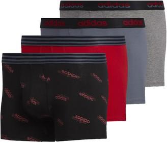 adidas Men's 4-pack Core Trunks