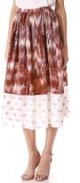 Elizabeth and james Grant Pattern Long Skirt