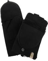 Mackage Orea Fingerless Gloves And Mittens For Women In Black
