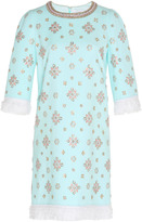 Andrew Gn Bead Embroidered Mini Dress
