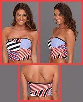 Tommy Hilfiger Swimsuit Bikini Tankini Top Strap Core Bandini L
