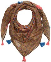 Fat Face Girl's Giraffe Tile Square Scarf