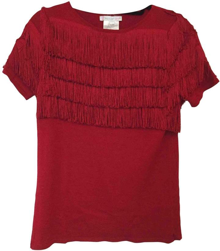 Paul & Joe Sister Red Wool Top for Women