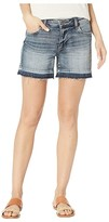 KUT from the Kloth Andrea Five-Pocket Shorts w/ Released Hem in Persist w/ Medium Base Wash (Persist w/ Medium Base Wash) Women's Casual Pants