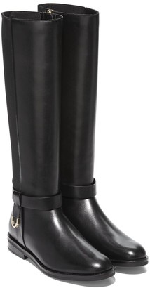 Cole Haan Camry Leather Riding Boot
