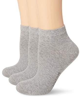 Schiesser Men's Herren Sneaker (3PACK) Ankle Socks (Size Of : 403) Pack of 3