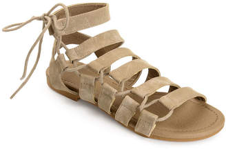 Journee Collection Womens Cleo Flat Sandals