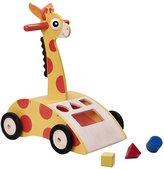 Green Baby Wonderworld Giraffe Walker 'N Shape Sorter