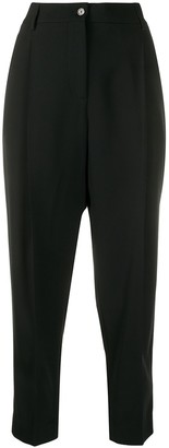 Piazza Sempione Tailored Cropped Trousers