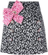 Dolce & Gabbana bow front mini skirt