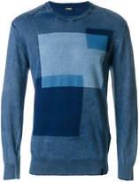 Diesel Square motif sweater