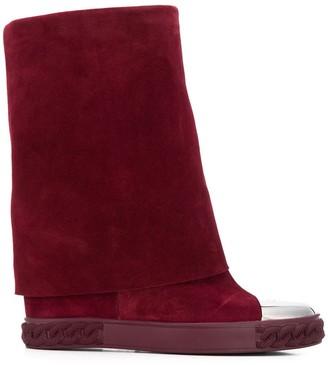 Casadei Metal Toe Cap Boots