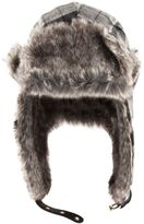 Dents Bold Check Trapper Hat