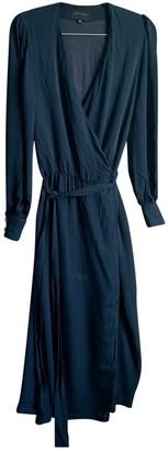 Birgitte Herskind Navy Silk Dress for Women