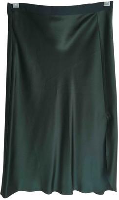 Nili Lotan Green Silk Skirt for Women