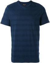 Barbour textured stripe T-shirt - men - Cotton - XL
