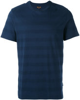 Barbour textured stripe T-shirt