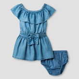 Genuine Kids from OshKosh Toddler Girls' Tencil Off Shoulder Top And Bow Skirt Set Genuine Kids® from OshKosh® - Blue