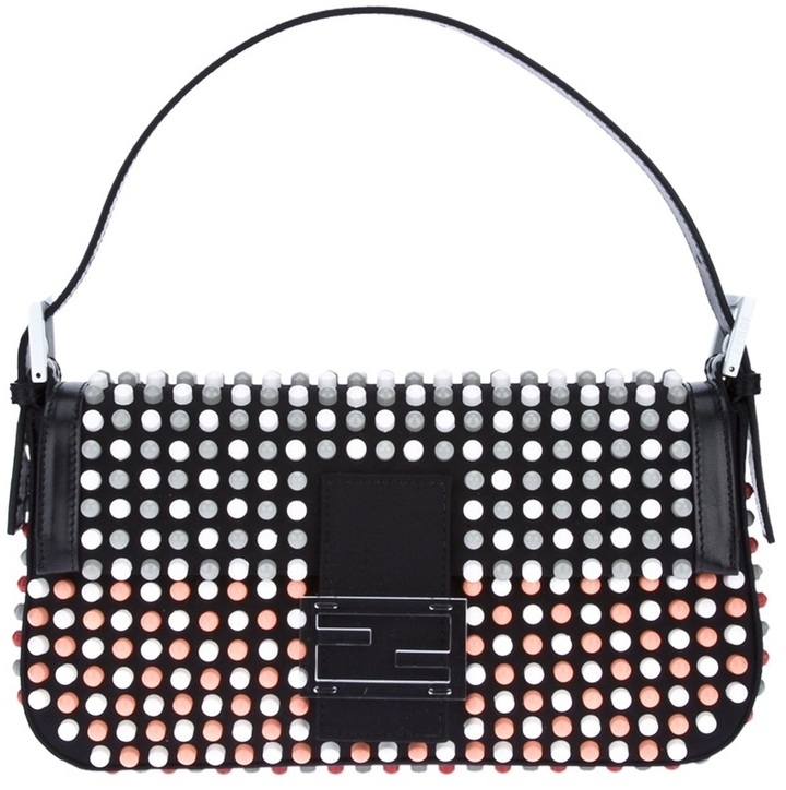 Fendi studded 'Baguette' clutch