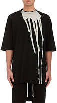 Rick Owens MEN'S BLEACHED COTTON OVERSIZED T-SHIRT