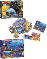 Melissa & Doug Solar System & Underwater Puzzle Bundle