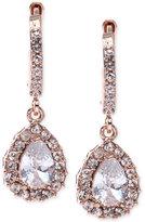 Givenchy Rose Gold-Tone Silk Teardrop Earrings