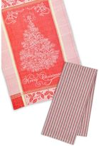 Merry Christmas Tree Dishtowel (Set of 4)