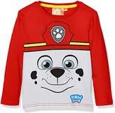 Nickelodeon Boy's Paw Patrol Marshall T-Shirt