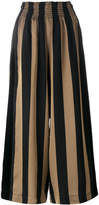 Forte Forte striped wide-leg trousers