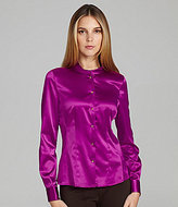 T Tahari Baker Colorblock Blouse